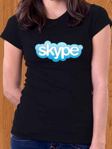 T Shirt Skype skype t shirt ficonco merchandise t shirts