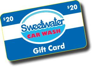 Sweetwater Gift Card - gift cards sweetwater car wash