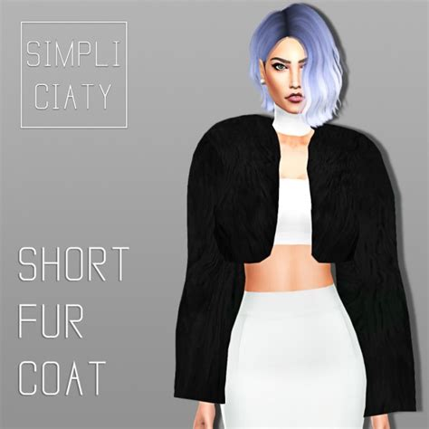 Top Home Decor Websites simpliciaty short fur jacket sims 4 downloads