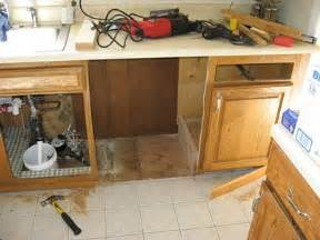 Install A Dishwasher In An Existing Kitchen Cabinet Pin By Tammy Deicken On Home Pinterest