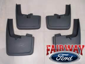 15 thru 17 f 150 oem genuine ford molded splash guards mud