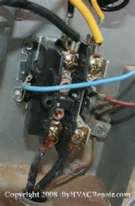 contactor replacement www diyhvacrepair