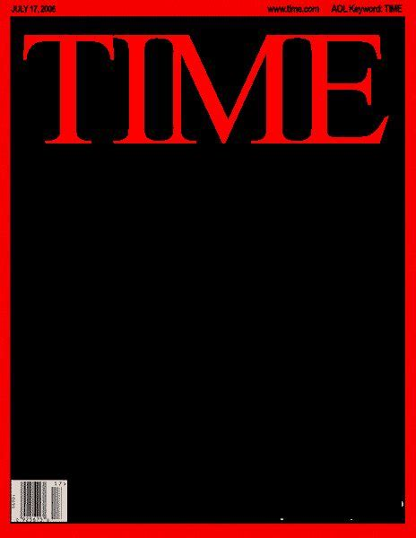 blank time magazine cover framing history pinterest