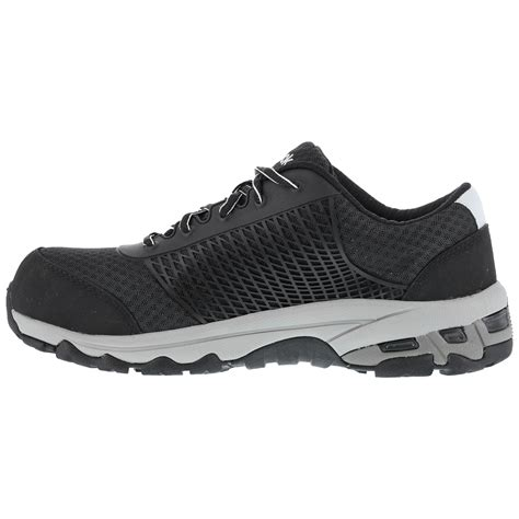 composite toe athletic shoes black composite toe sd work athletic shoe reebok heckler