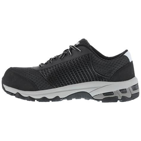athletic composite toe shoes black composite toe sd work athletic shoe reebok heckler