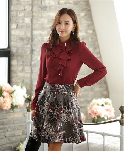 imagenes de coreanas modelos moda coreana 20 modelos de blusas para este 2014 mundo