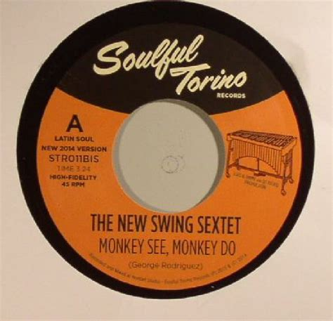 Big Comfy Monkey See Monkey Do by The New Swing Sextet Monkey See Monkey Do Vinyl At Juno Records