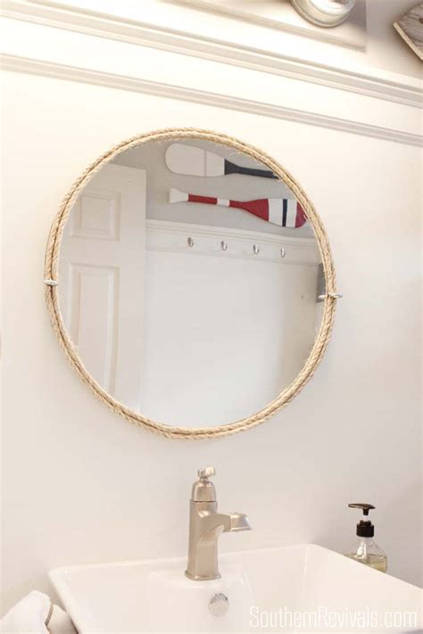 nautical mirrors bathroom nautical guest friendly boys bathroom makeover reveal