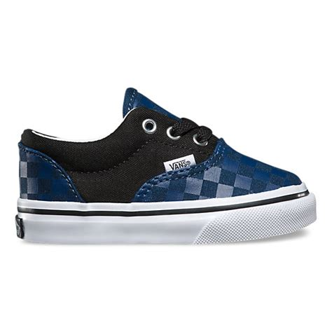 black pattern vans toddlers checkerboard era shop toddler shoes at vans