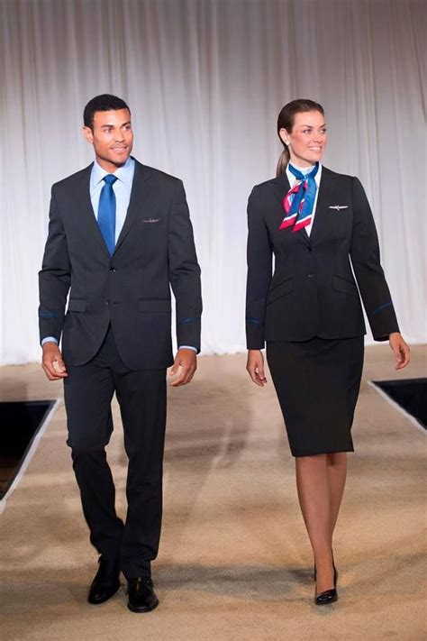 pin airlines flight attendant uniforms hairstyles 2013 new american airlines uniforms coming sept 2016