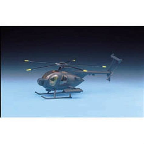 Academy 1 48 Plastic Model Kit Mh 6 Stealth Helicopter 12260 Plastic Model Kit 1 48 Hughes Mh6 Helicopter Academy 1691