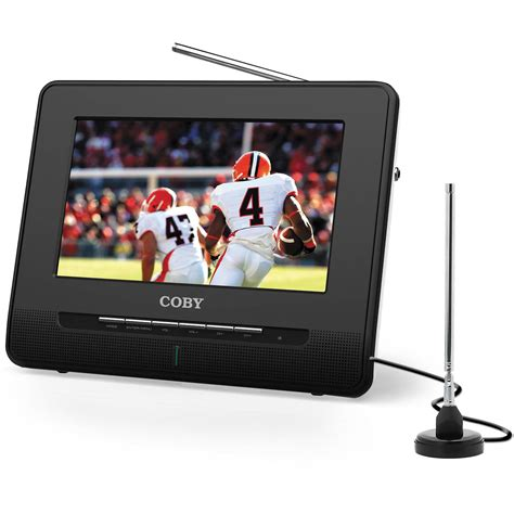 Tv Portable coby tftv992 9 quot portable digital lcd tv tftv992 b h photo