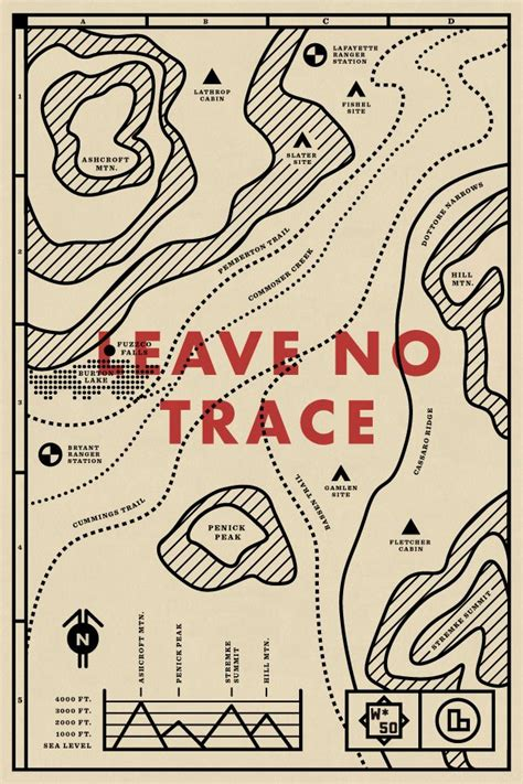 yosemite explores leave no trace books best 25 map design ideas on