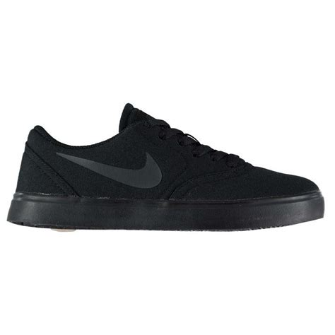 skate shoes sports direct nike nike sb check junior canvas skate shoes