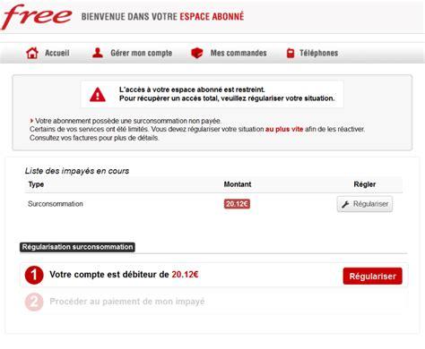 free mobile por free mobile la possibilit 233 d anticiper une surconsommation