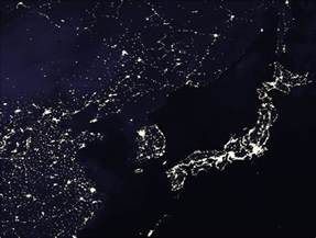 lights of korea is