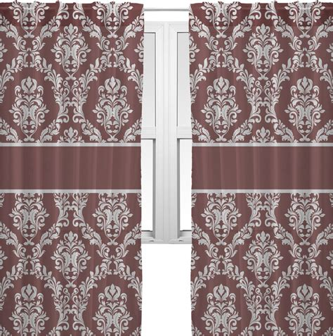 Sheer Maroon Curtains Maroon White Sheer Curtains 60 Quot X84 Quot Personalized Youcustomizeit
