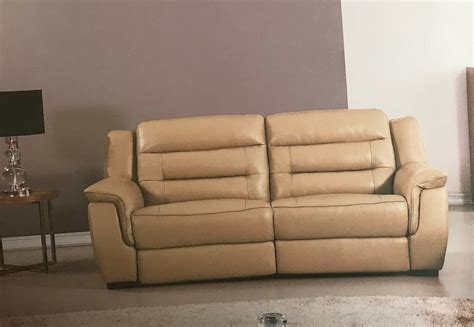 italian recliner sofa lago italian tan leather power reclining sofa usa