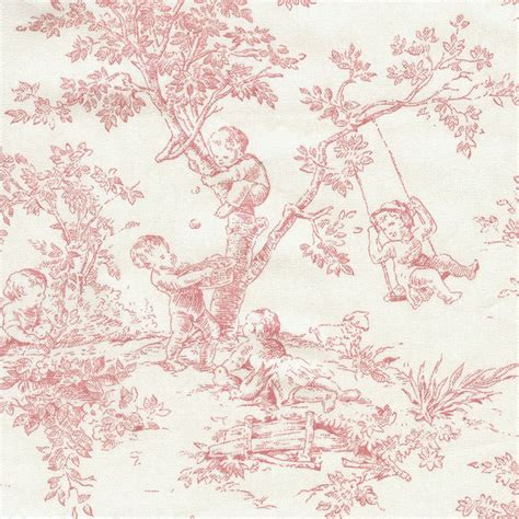 toile upholstery fabric pink toile upholstery fabric by the yard by angel song