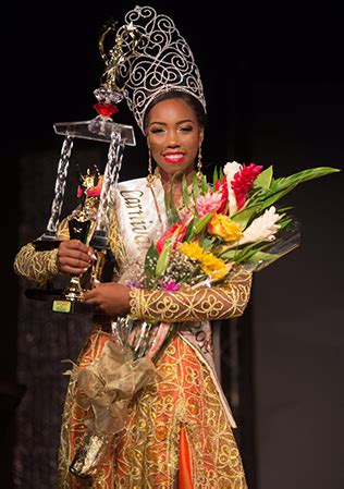 chancy crowned carnival queen  st lucia times news