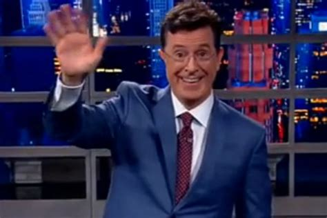 who is the real stephen colbert an early peek at his late 5 best jokes from stephen colbert s first late show
