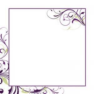 blank wedding invitations cards wedding invitation sle