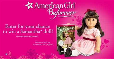 american girl be forever sweepstakes - American Girl Sweepstakes