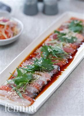 filet ikan tuna by seafood dhm has sashimi of snapper tuna