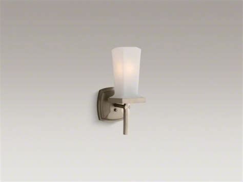 kohler bathroom lighting kohler margaux r wall sconce