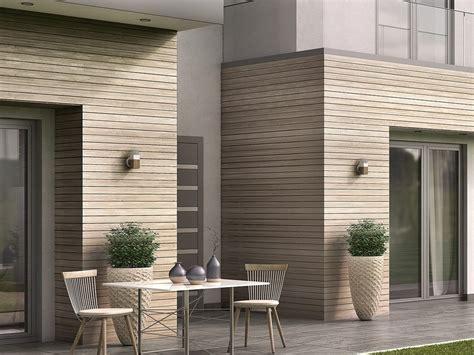 rivestimento pareti esterne in legno woodee pannello in legno per facciate collezione smartia