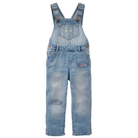 Overall Oshkosh oshkosh newborn infant destructed denim overalls