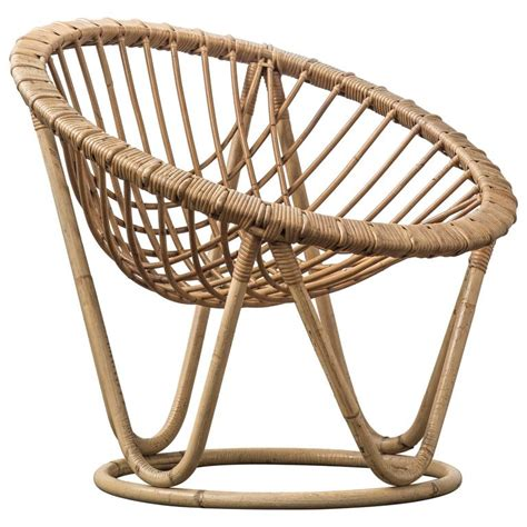 bamboo and rattan wicker work chair for sale at 1stdibs