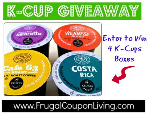K Cup Giveaway - k cup coffee newest giveaway k cups deals starting at 42 per k cup