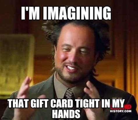 Gift Meme - free sle 50 gift card when you test drive a new