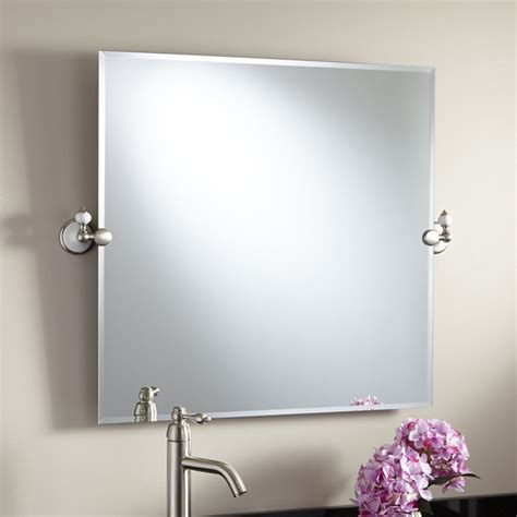 Bathroom Mirrors Adelaide | 28 quot adelaide square tilting mirror modern bathroom