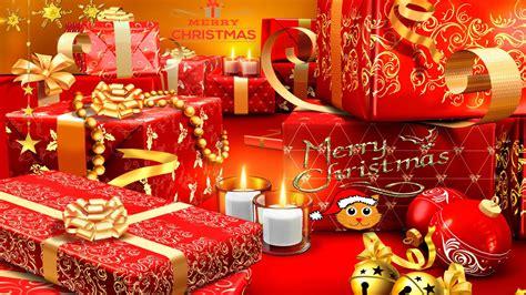 merry christmas gift  wallpaper