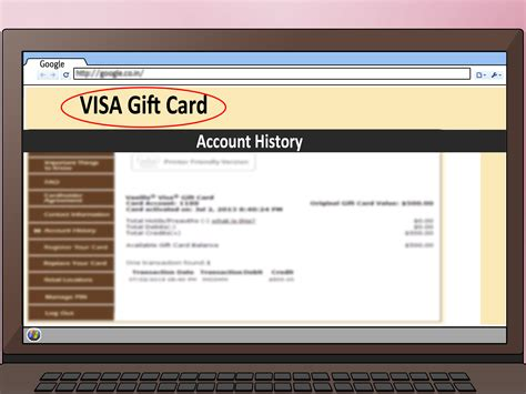 How To Check My Visa Gift Card Balance - visa prepaid gift card balance lamoureph blog