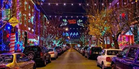 america s best streets for christmas lights huffpost