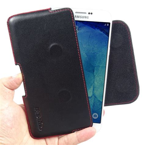 Imak Ruiyi Leather For Samsung Galaxy A8 A8000 samsung galaxy a8 leather holster pouch stitch pdair