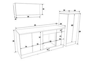 meuble cuisine dimension galerie avec meubles direct des