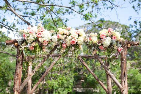 Wedding Arch Of Flowers by Gorgeous Rustic Floral Wedding Arch Elizabeth