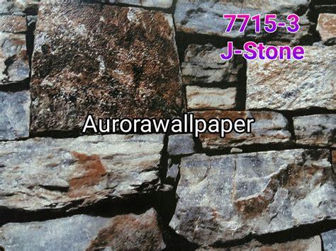 Wallpaper Dinding Batu Alam jual wallpaper dinding motif batu alam wallpaper