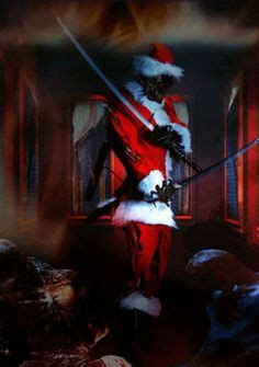 evil christmas images   bad santa darkness dark christmas