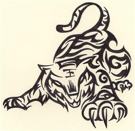 33 tribal tiger tattoos designs tribal tiger www pixshark images galleries