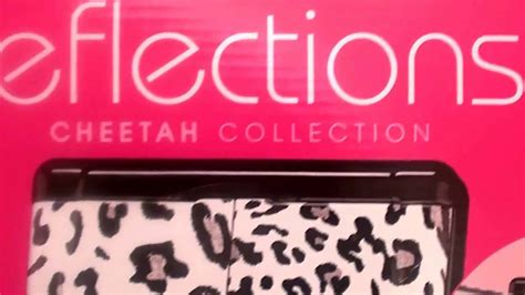 reflections led lighted collection mirror conair reflections cheetah collection lighted makeup