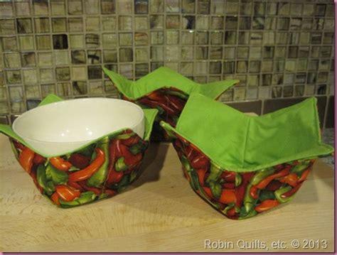 free pattern microwave bowl potholder robin quilts etc more microwave potholder bowls finished