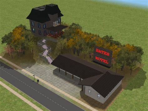 House Floor Plans With Safe Rooms mod the sims psycho bates motel