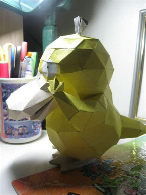 pokemon psyduck papercraft     paper model