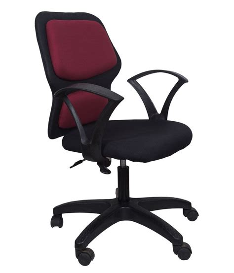 Maroon Office Chair by Snapdeal Deals Of The Day 07 06 2016