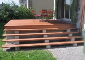 kleine terrasse bauen terrassen treppen holz selber bauen bvrao
